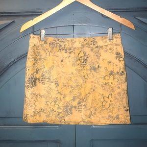 Express Leather Skirt Sz 2